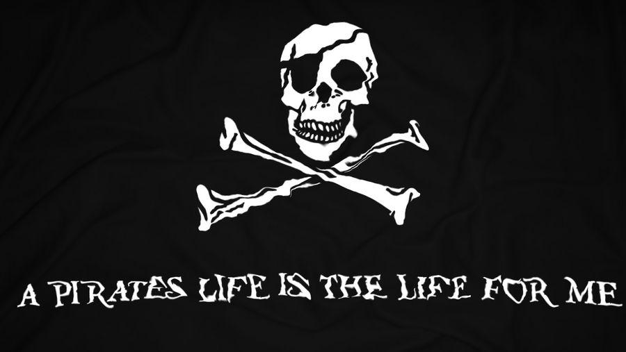 Pirate's Life - Wallpaper