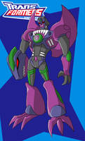 Animated Beast Wars Megatron by Gryphman