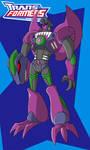 Animated Beast Wars Megatron
