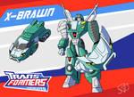 Transformers Animated X-Brawn