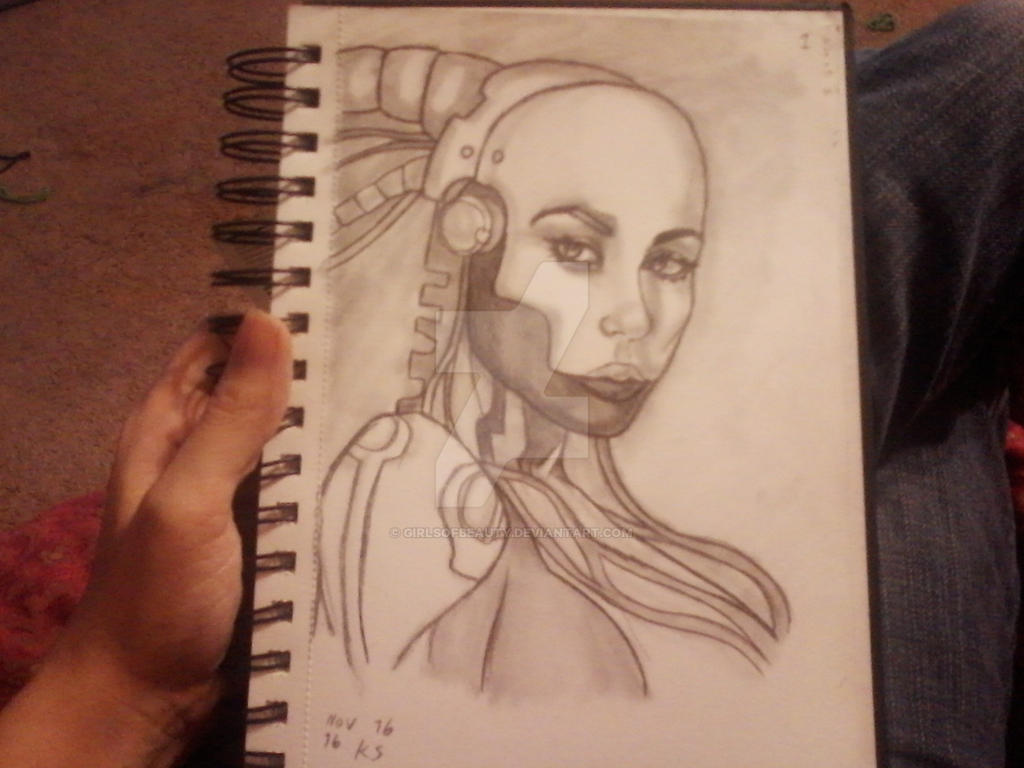Robot by girlsofbeauty