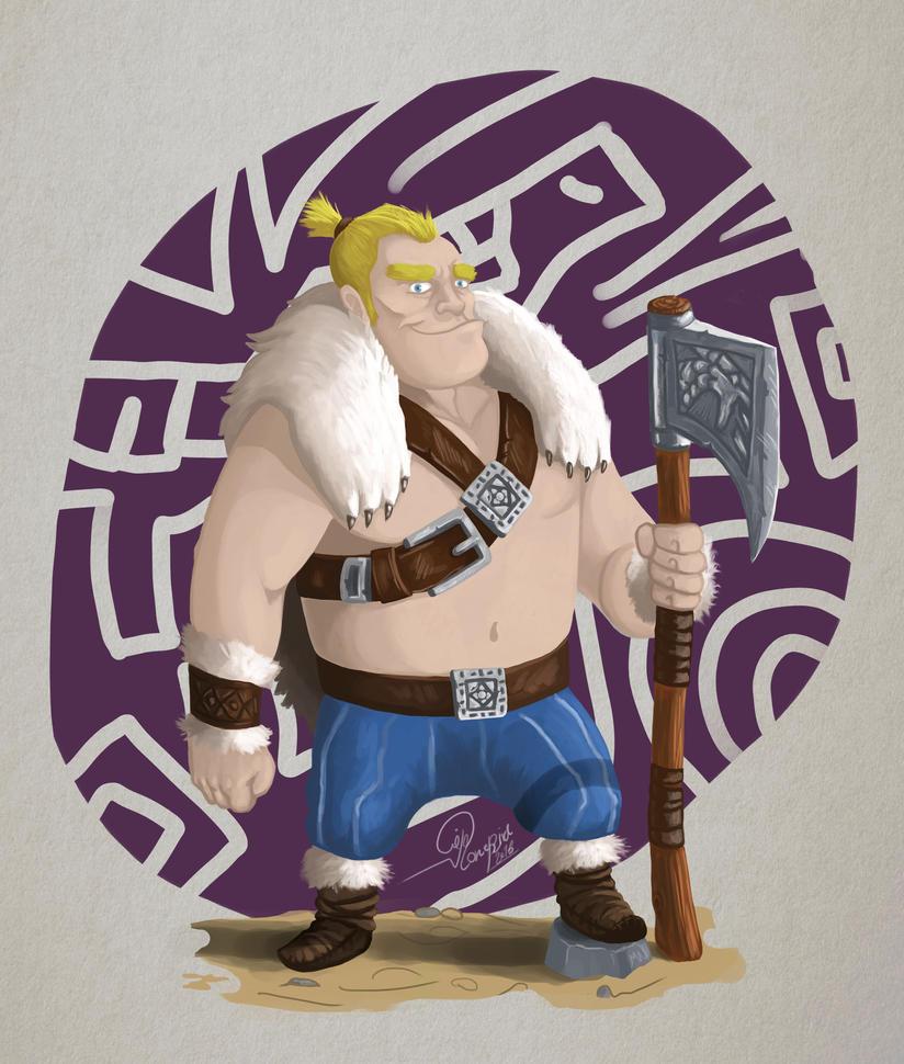 Viking Warrior by Birdtear