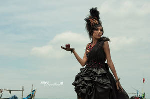 Black Gown_Sinay_001 by metzad99