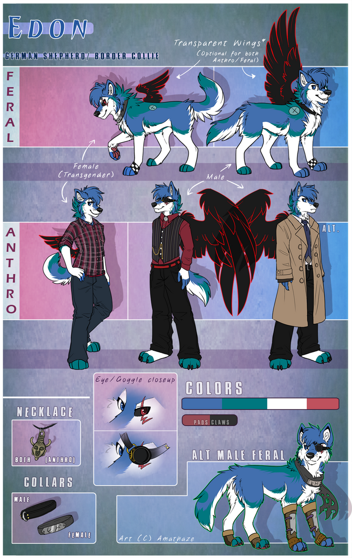 Edon reference [commission] by RupeeCat