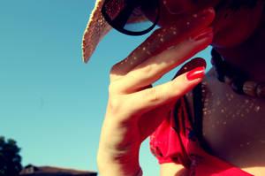 A beautiful girl. Me. by umorismoDAflashBACK