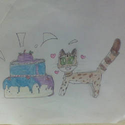 Happy birthday MyIdeaGarden! by Maplefeather105