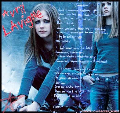 Avril Lavigne Tomorrow Lyrics by brittXblc on DeviantArt Avril Lavigne Tomorrow