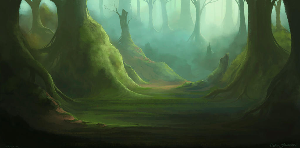 Acrylic Painting Fantasy Art