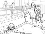 Pool Hall Lines