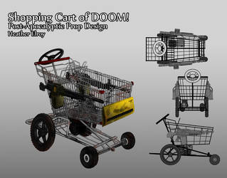 Shopping Cart of Doom by SpiffyMai