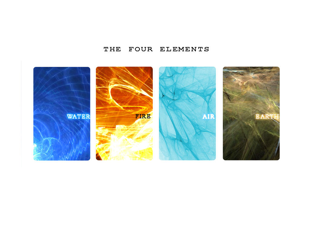 Four Elements Art : The four elements abstract way by panai5 on deviantart