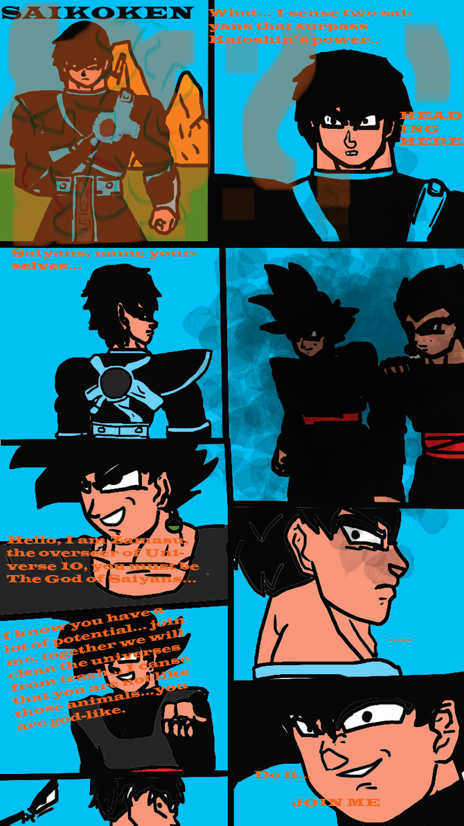 Dragon Ball Multiversal page 1 chapter 1 by ClearlyAnArtist