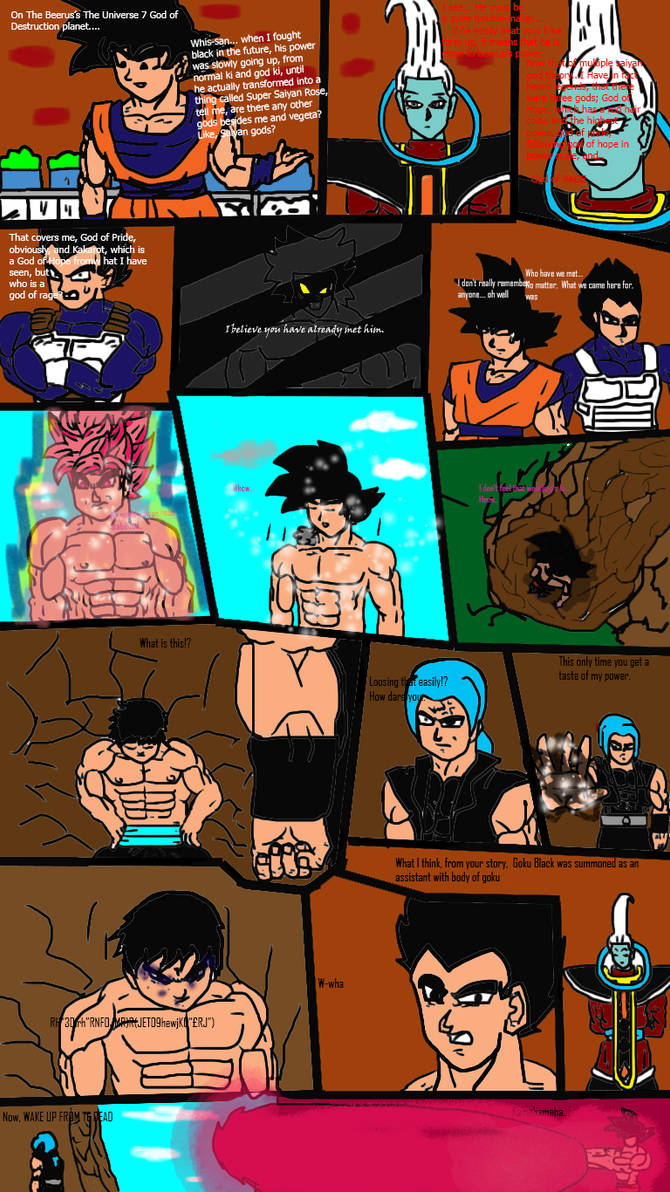 Dragon Ball Multiverse page 8 chapter 1 by ClearlyAnArtist