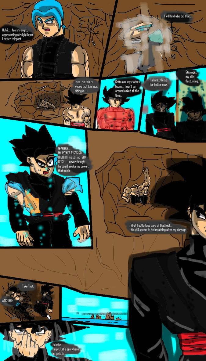 Dragon Ball Multiversal Page 10 Chapter 1 by ClearlyAnArtist