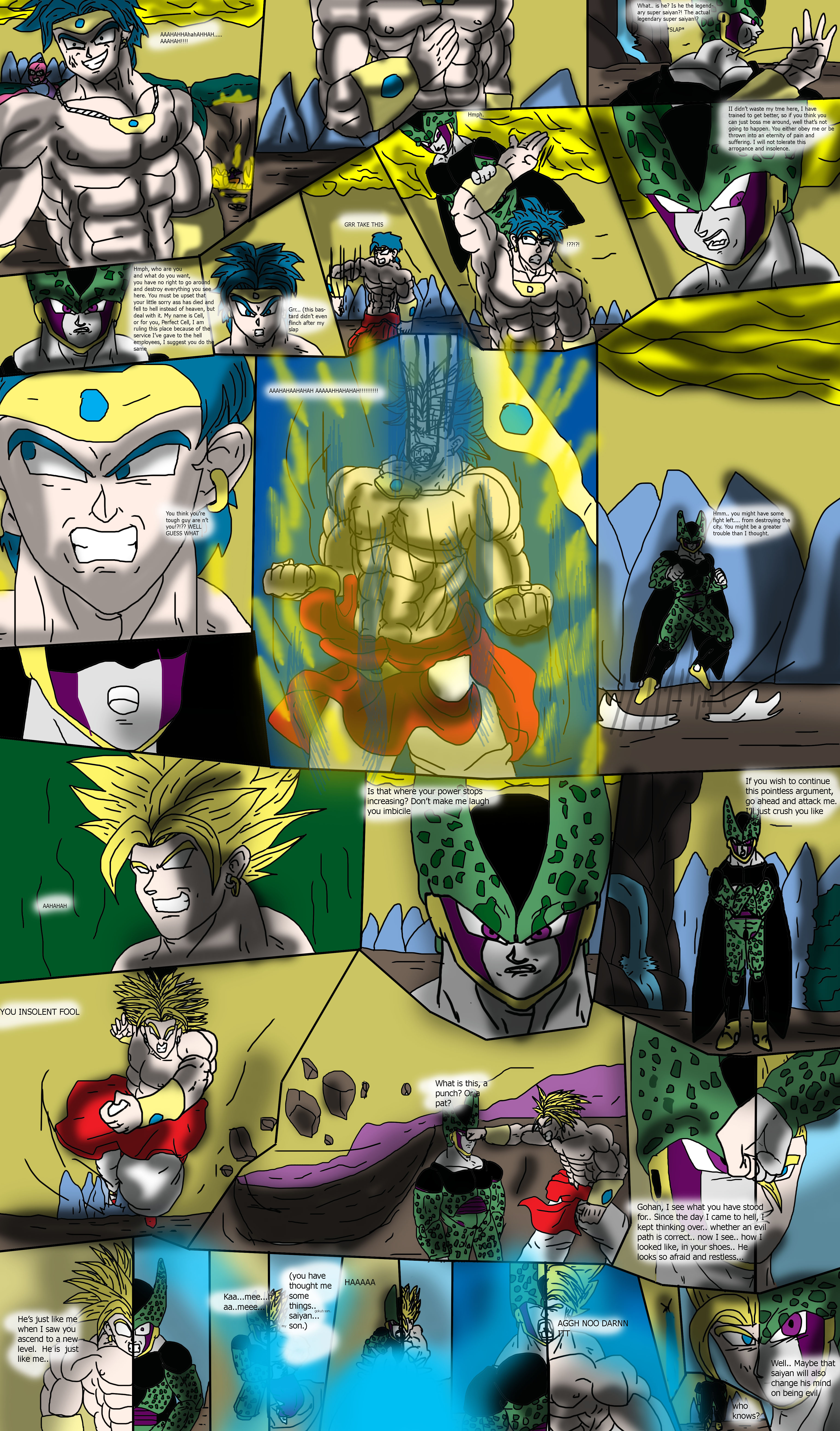Dragon Ball Multiversal Page 6 Chapter 2 Golden SE by ClearlyAnArtist