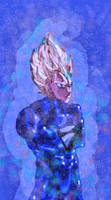 Vegeta SSR SSB Hybrid by ClearlyAnArtist