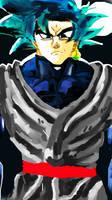 Goku Black by ClearlyAnArtist