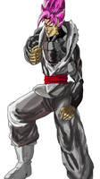Goku Black SSR by ClearlyAnArtist