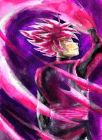Goku Black SSJR Collab Version 2 by ClearlyAnArtist