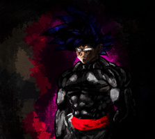 Goku Black Of The Past (CHAR INFO #2) by ClearlyAnArtist