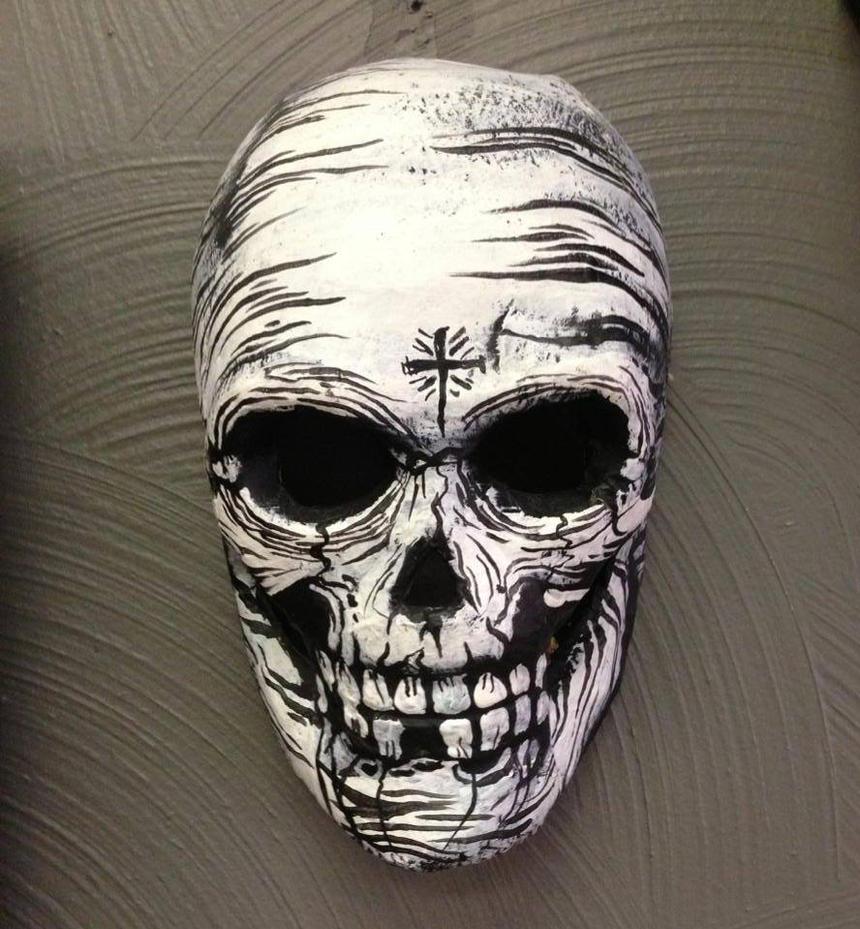 Day of the Dead Mask by JarrodJawless on DeviantArt