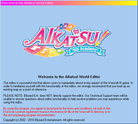 Warcraft III World Editor Mod - Aikatsu Logo