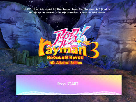 Rayman 3 HD: Aikatsu Edition - AiFure