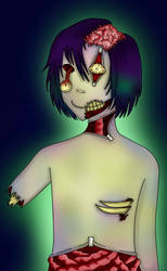 Zombie man by ClumsyLittleFreak