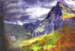 Stormy peaks by untuox