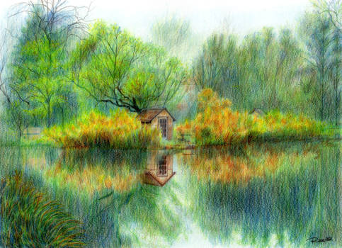 A house on the lake