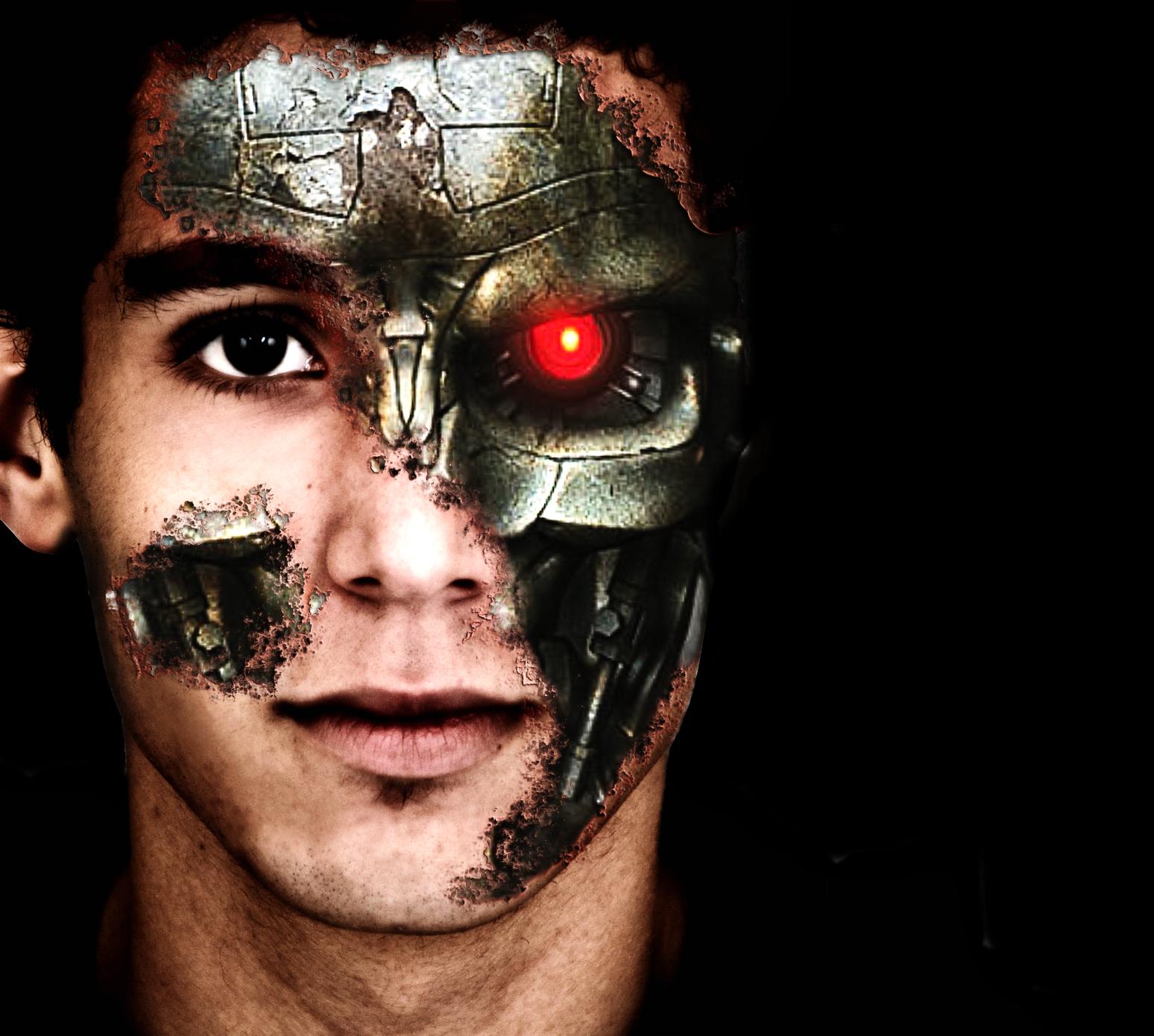 Terminator face by brox023 on DeviantArt