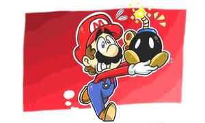 Mario by SmallDarkBow
