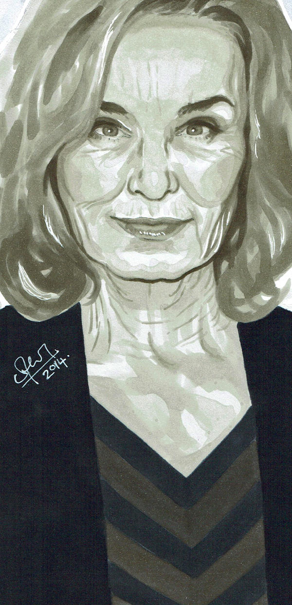 Jessica Lange by s-carter