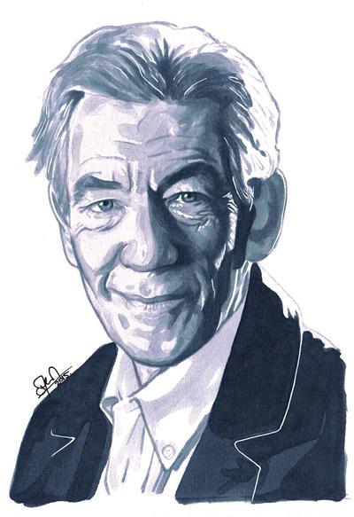 Sir Ian McKellen by s-carter