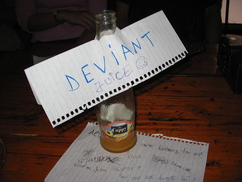 Deviant Juice