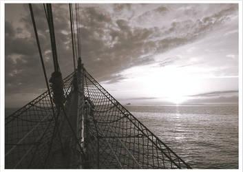 On the sea by bucuresti