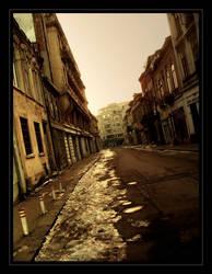 Old town by bucuresti
