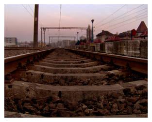 away...by DarkEngel by bucuresti
