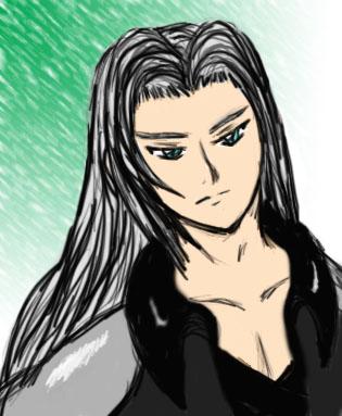 Digital practice-Sephiroth by Aureawolf