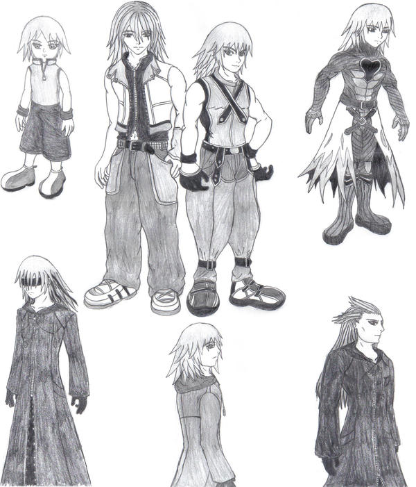 Too Many Rikus by Aureawolf