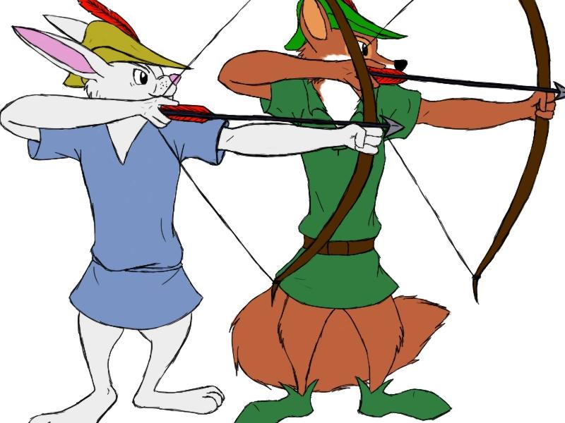 Disney's Robin Hood Merry Men by Aureawolf