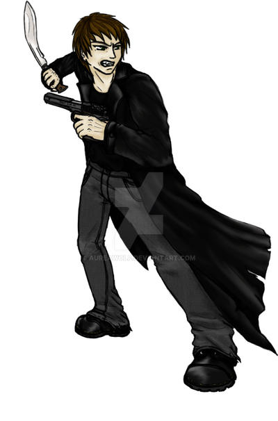 Justin the vampire by Aureawolf