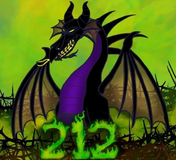 Maleficent Dragon by Aureawolf