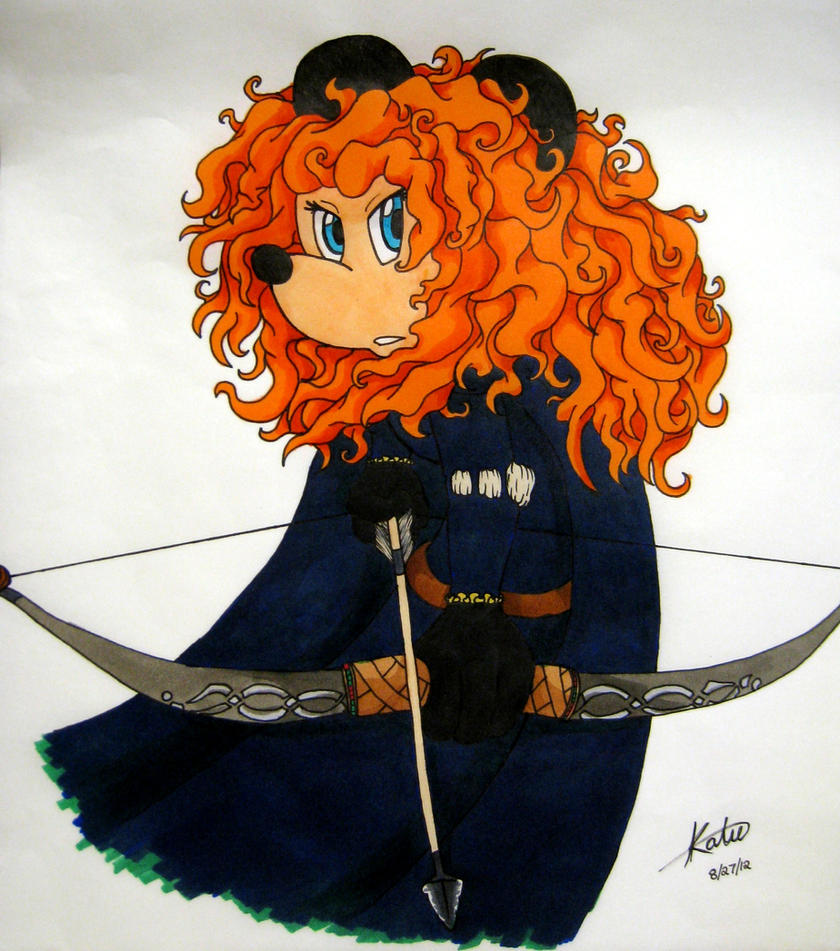 Merida Mouse by Aureawolf