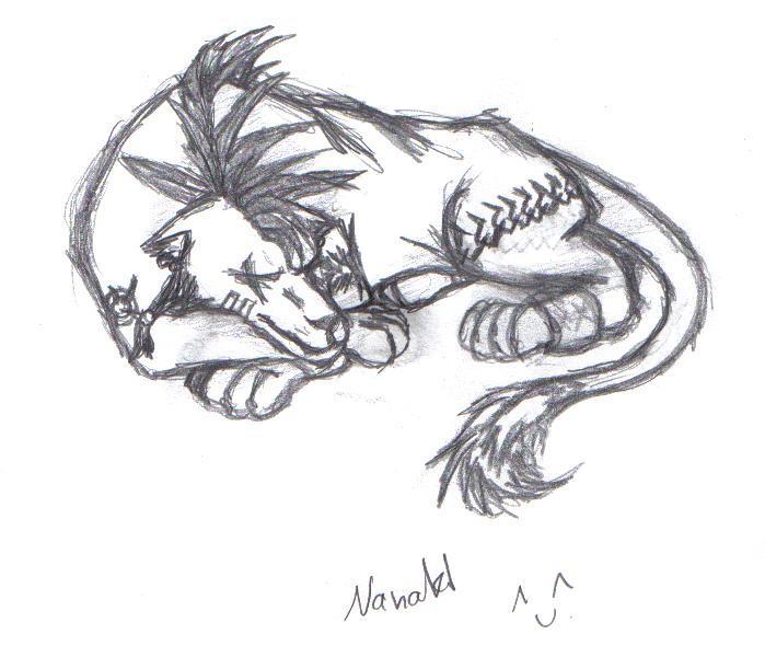 Nanaki by Aureawolf