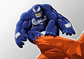 Venom Caricature by Fernando9121988