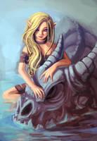 Skull-dragon-pet3 by Fernando9121988