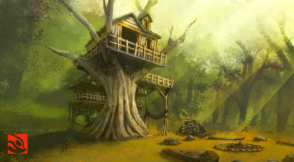 HOUSE IN THE FOREST by Fernando9121988