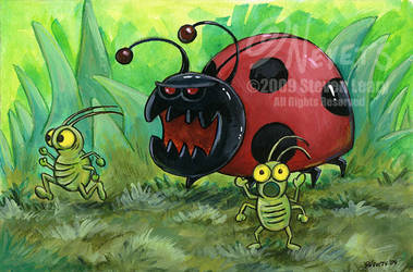 Ladybug Attack by spiraln