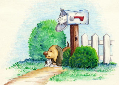 At The Mailbox by spiraln
